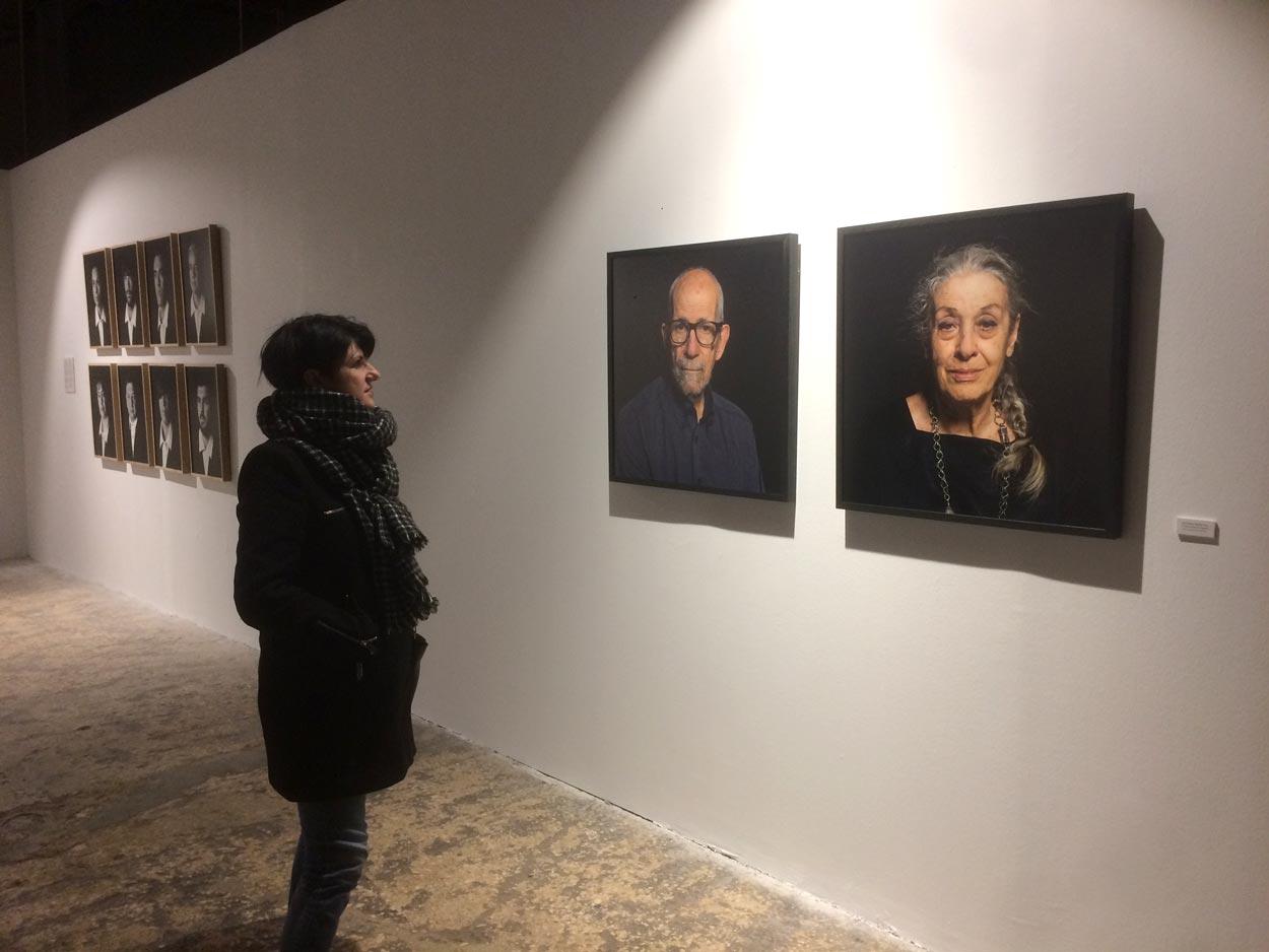 Exposición retrato Pep Escoda