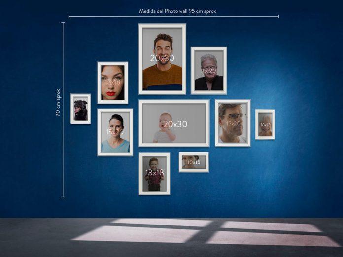 Nuevos Photo walls con servicio de retrato en casa